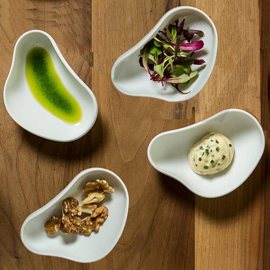Cookplay Yayoi Appetizer tapasbakjes mat porselein wit SET-6