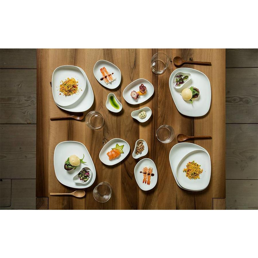 Cookplay Yayoi dinerset 4-delig wit porselein glanzend