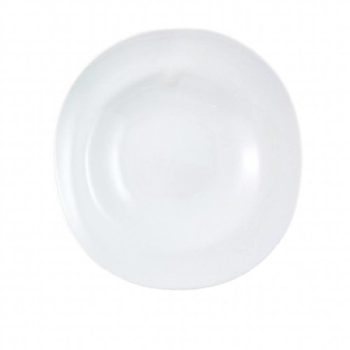 Cookplay Shell Diep bord - 2-delig - Porselein - 25 cm - Wit