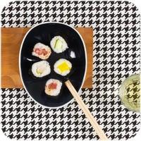 Cookplay Jomon small schaaltjes zwart-wit porselein -SET4