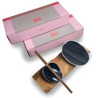 Jomon Sushi set zwart op bamboo tray