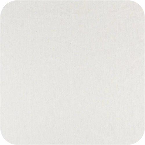 Gecoat tafelkleed Linnen 140 x 250 cm - Wit met goud