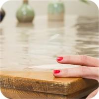 Transparant tafelzeil 3m bij 140 cm op rol van 140cm