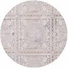 MixMamas Tafelzeil wit kant roosjes rond 135cm