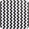 MixMamas Mexciaans Tafelzeil 270 cm bij 1,20m Zigzag Chevron zwart