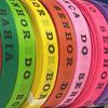 MixMamas Bonfim Lint Rol 43 m - Mulitpack 10 stuks - Roze, Oranje, Paars, Rood, Groen, Blauw