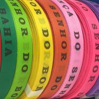 Bonfim Lint Rol 43 m - Mulitpack 10 stuks - Roze, Oranje, Paars, Rood, Groen, Blauw