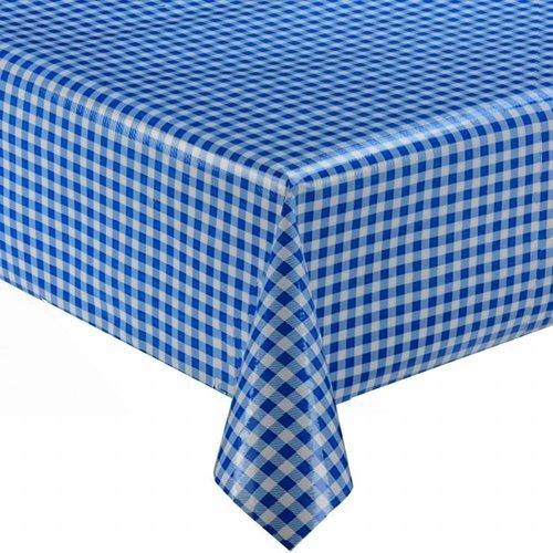 Tafelzeil Ruitje - 120 x 220 cm - Blauw