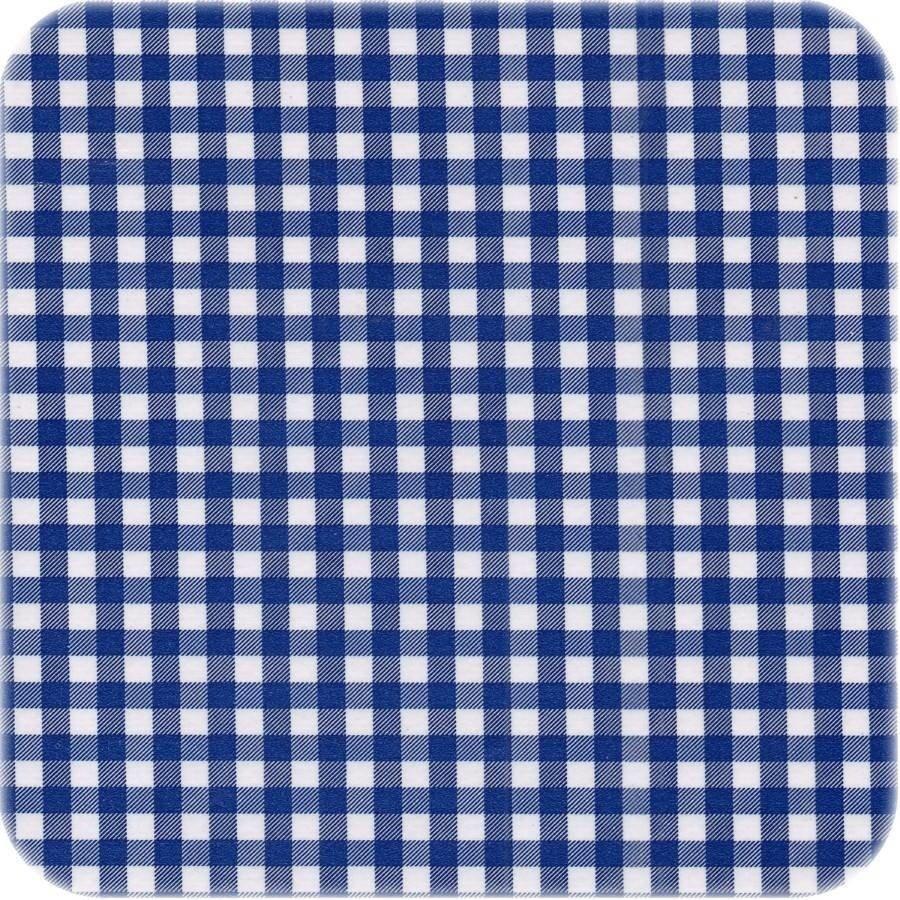 Mexicaans Tafelzeil Ruitje - 120 x 220 cm - Donkerblauw marine