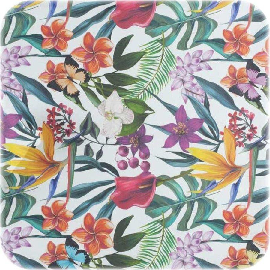 Tafelkleed Gecoat Tropical - 140 x 250 cm