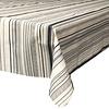 MixMamas Tafelkleed Gecoat Strepen -140 x 250 cm - Grijs
