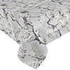 MixMamas Tafelkleed Gecoat Bloesem - 140 x 250 cm - grijs