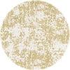 MixMamas Rond Tafelkleed Gecoat - Ø 150 cm - Sponged gold