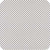 Rond Tafelkleed Gecoat - Ø 160 cm - Stippen - Zwart