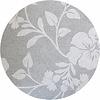 MixMamas Rond Tafelkleed Gecoat - Ø 160 cm - Hibiscus - Beige