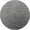 MixMamas Rond Tafelkleed Gecoat - Ø 160 cm - Steenkool - Jacquard - Zwart