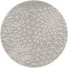 MixMamas Rond Tafelkleed Gecoat - 160 cm - Infinity - Beige