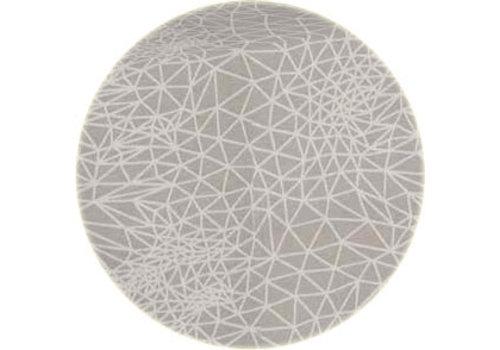 Rond Tafelkleed Gecoat - Ø 160 cm - Infinity -Beige