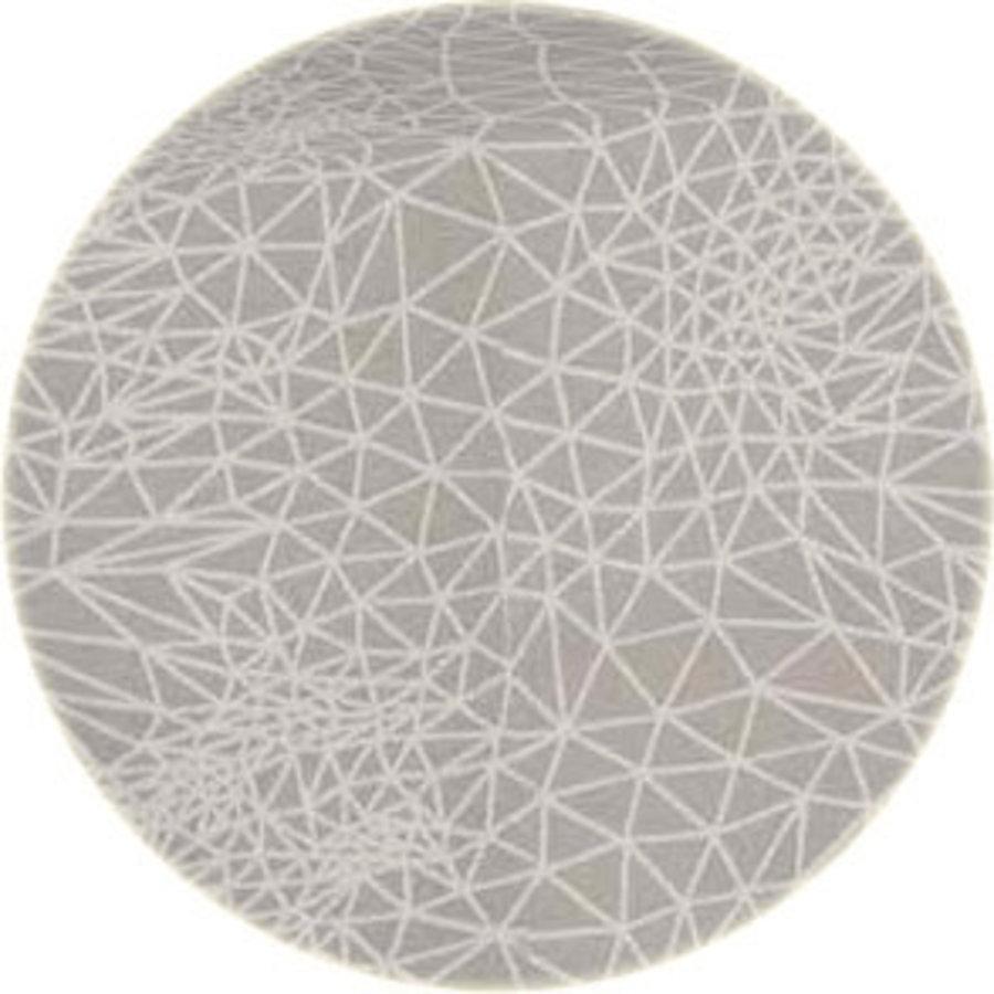 Rond Tafelkleed Gecoat - 160 cm - Infinity - Beige