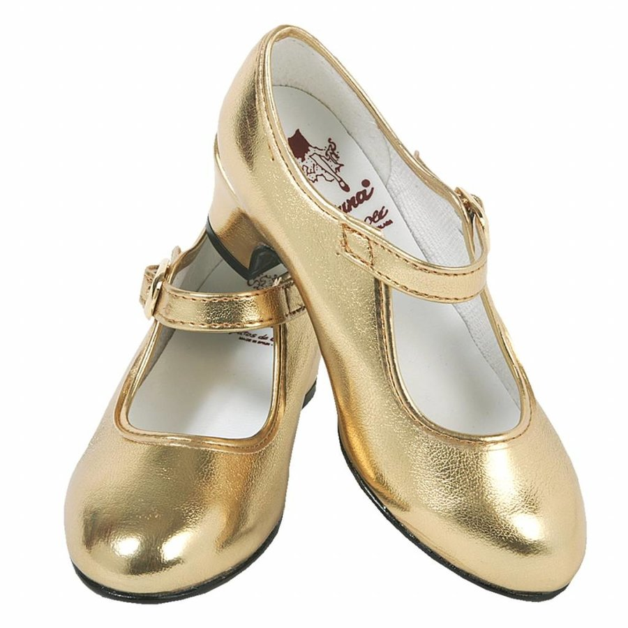 Spaanse Prinsessenschoen - Goud