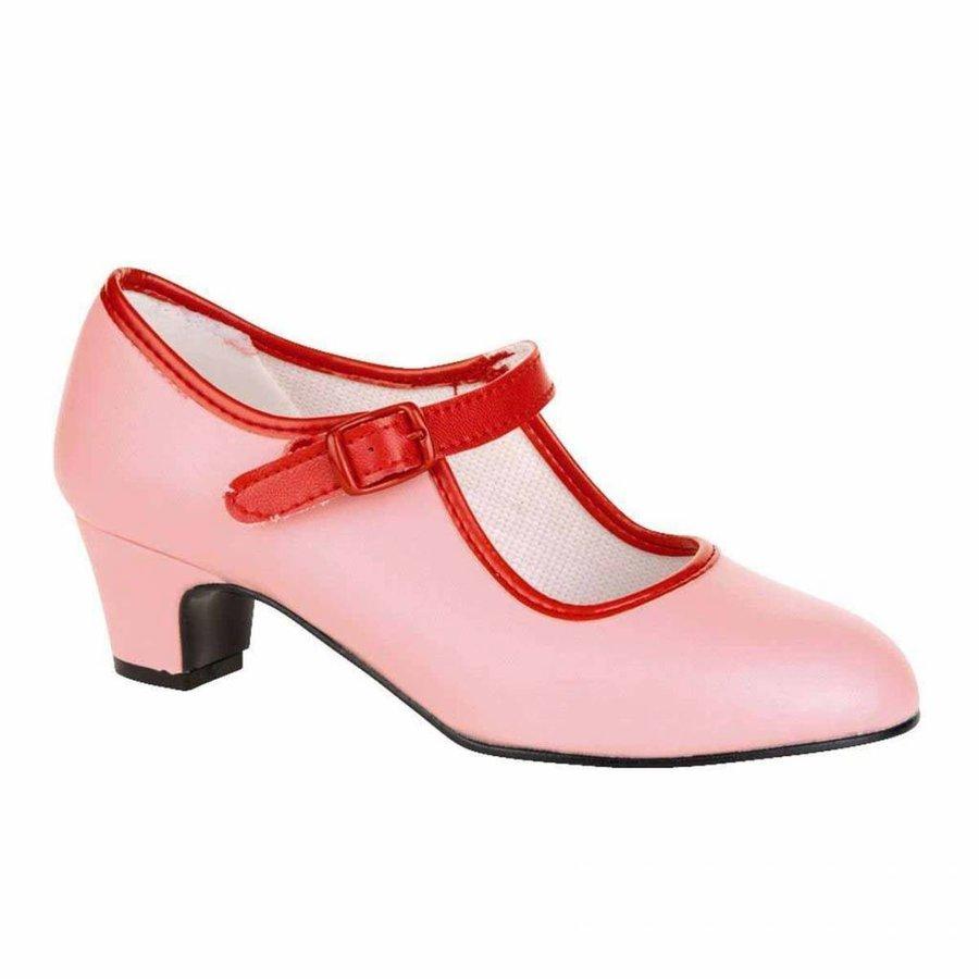 Spaanse Prinsessenschoen - Maat 31- Binnenzool 20,5 cm - Roze