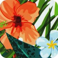 Vierkant Tafelzeil - 140 cm - Paradise Jungle