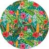 MixMamas Tafelzeil Rond - 140 cm - Paradise Jungle