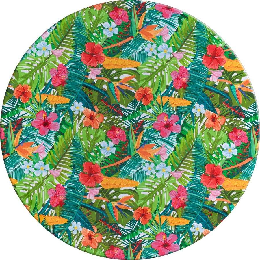 Tafelzeil Rond - 140 cm - Paradise Jungle