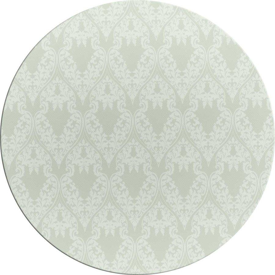 Tafelzeil Rond - 140 cm - Ornaments Almond Green