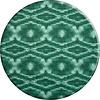 MixMamas Rond Tafelkleed Gecoat - 140 cm - Tie Dye Groen