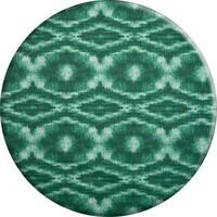 Rond Tafelkleed Gecoat - 140 cm - Tie Dye Groen
