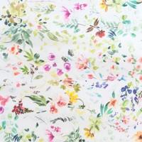 Rond Tafelkleed Gecoat - 140 cm - Bouquet
