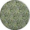 MixMamas Rond Tafelkleed Gecoat - 140 cm - Tropenkolder groen