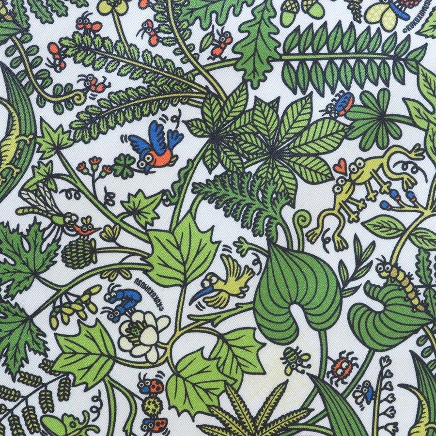 Rond Tafelkleed Gecoat - 140 cm - Tropenkolder groen