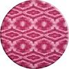 MixMamas Rond Tafelkleed Gecoat - 160 cm - Tie Dye roze