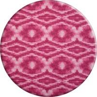 Rond Tafelkleed Gecoat - 160 cm - Tie Dye roze