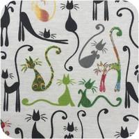 Tafelkleed Gecoat - 140 x 250 cm - Katten