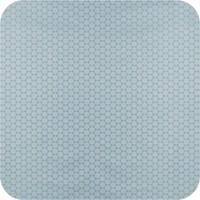 Tafelkleed Gecoat Jacquard Stippen - 140 x 200 cm - Oceaan Groen