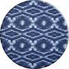 MixMamas Rond Tafelkleed Gecoat - 180 cm - Tie Dye Indigo Blauw