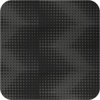 Tafelkleed Gecoat Hippe Stippen- 140 x 300 cm- Grijs- ton-sur-ton