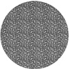 MixMamas Rond Tafelkleed Gecoat Jacquard - 160 cm - Katten - Grijs