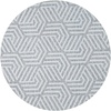 MixMamas Rond Tafelkleed Gecoat Jacquard - 160 cm Seamless Hexagon