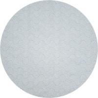 Rond Tafelkleed Gecoat Jacquard - 160 cm Seamless Hexagon