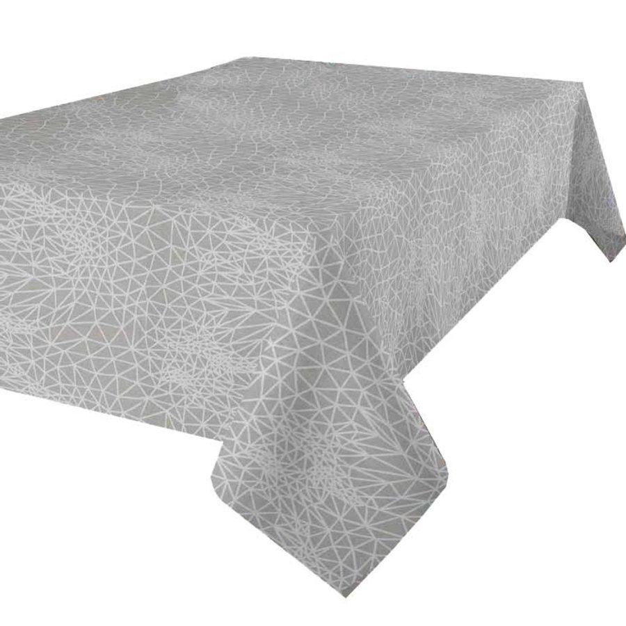 Tafelkleed Gecoat Infinity -140 x 250 cm - Beige