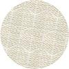 MixMamas Rond Tafelkleed Gecoat Jacquard - 180 cm Striped Hexagon - Beige / Goud