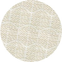 Rond Tafelkleed Gecoat Jacquard - 180 cm Striped Hexagon - Beige / Goud
