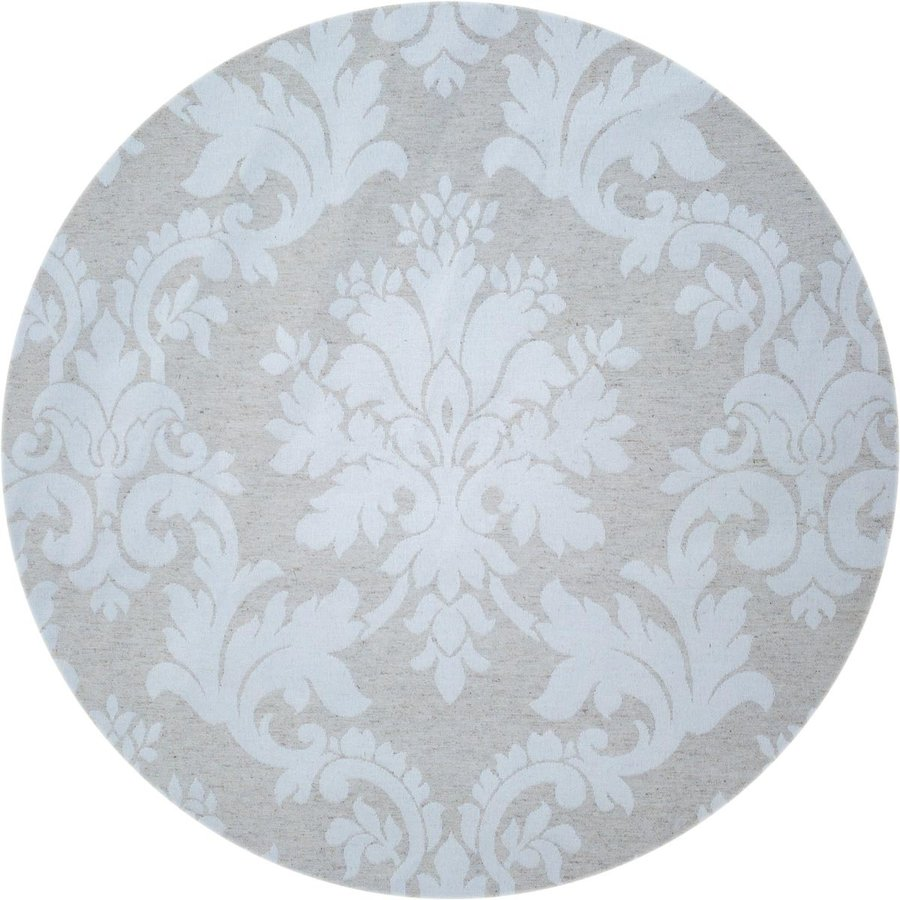 Rond Tafelkleed Gecoat Jacquard - 180 cm Chateau Barok - Beige