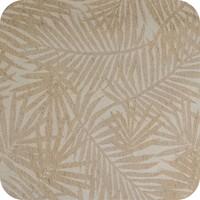 Tafelkleed Gecoat Jacquard Palm Leaves 140 x 250 cm  Beige