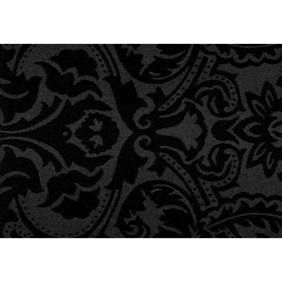 Tafelkleed Gecoat Barok 140 x 250 cm Zwart