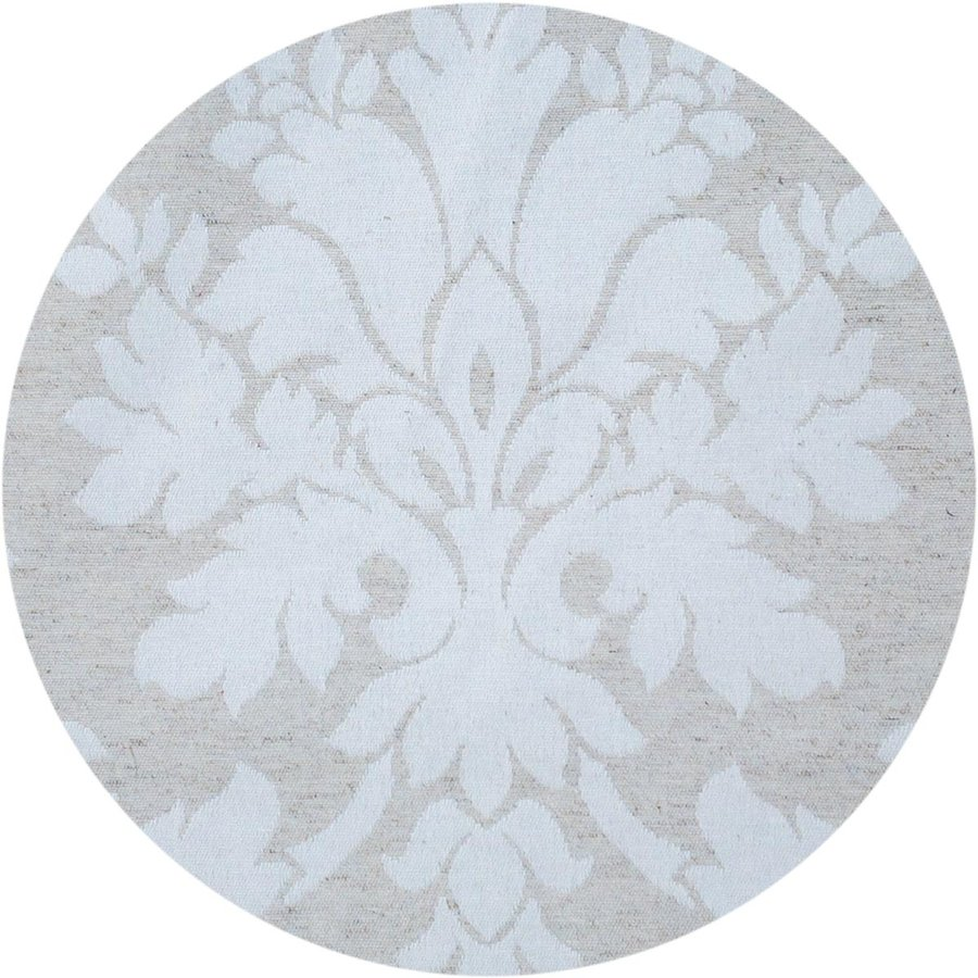 Rond Tafelkleed Gecoat Jacquard - 160 cm Chateau Barok - Beige